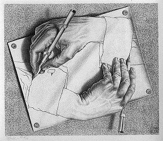 Художник рисующий линии