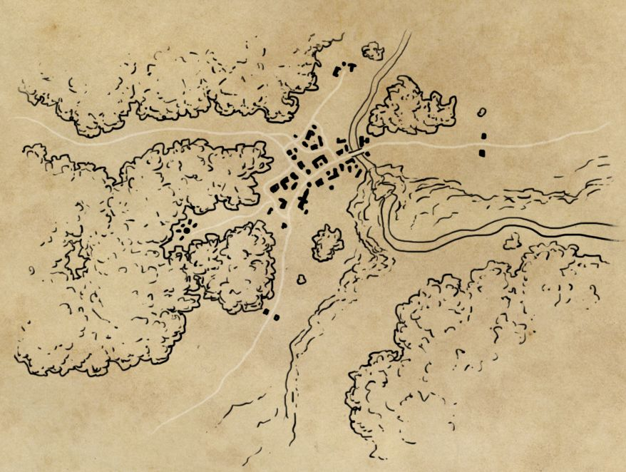 how to draw a prairie map cartography