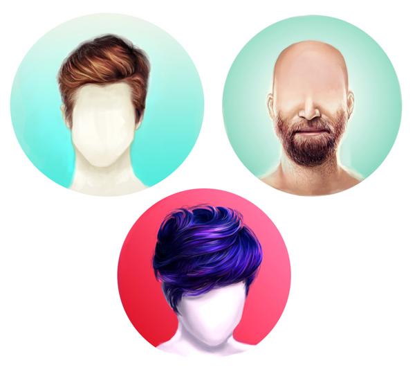 Как в фотошопе сделать объемней волосы Как добавить волосы в фотошопе - Photoshop - Уроки