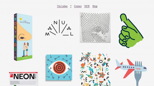 Разные работы Тима Лаэна (Tim Lahan) на его сайте подобраны и скомпанованы идеально